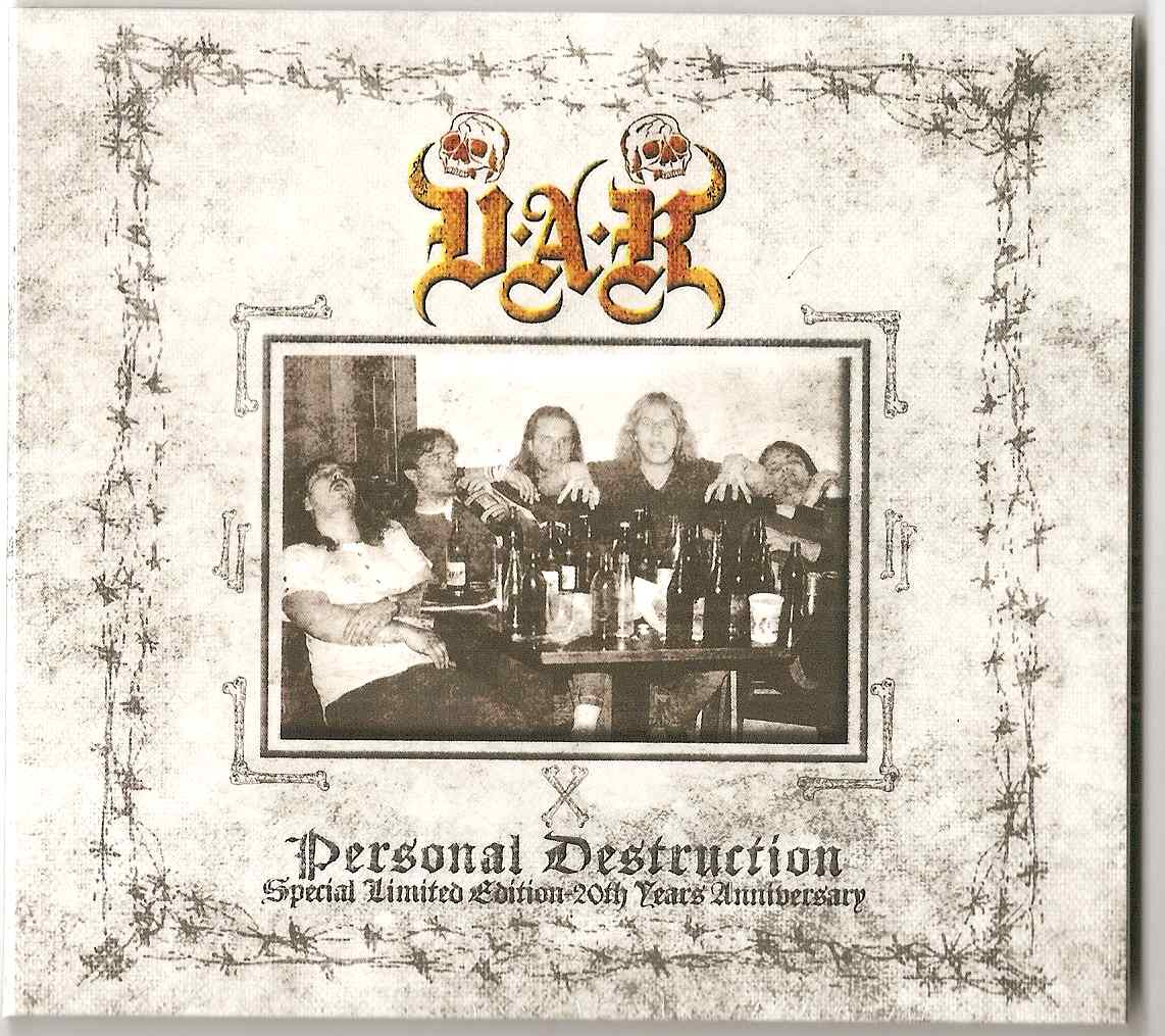 Personal Destruction- Special Limited Edition-20th Years Anniversary
